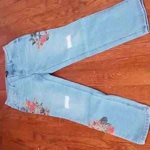 Du jour girls jeans,Size 6,light blue Jeans,